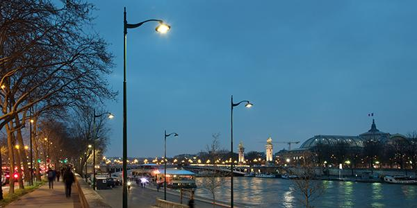 Schréder tweaked the Citea luminaire to meet the specific needs of the City of Paris