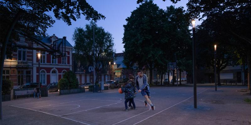 Open lighting technology from Schréder is helping the city of Antwerp to create smart zones with extra value for citizens