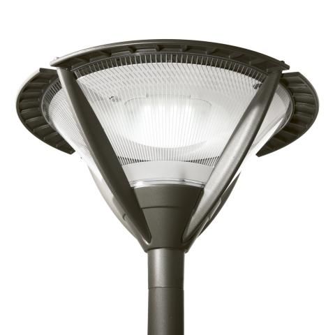 Alura LED is a distinctive urban luminaire for lighting urban centres, squares, bike paths, residential streets and car parks.