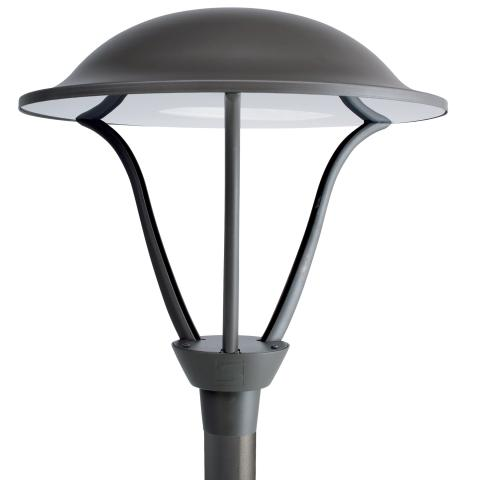 The Isla LED lamppost presents an elegant design that perfectly integrates into many urban and residential environments.