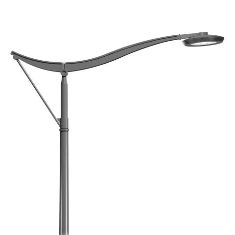 The LUTECIA bracket offers a modern and elegant design to upgrade your lighting furniture.