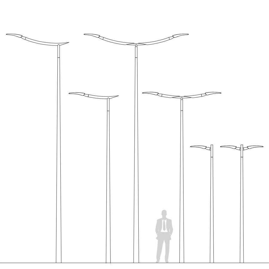 Parasol Aluminium Luxe 3 X 4 M Residence.Street Lighting Solution To Optimise The Total Cost Of Ownership