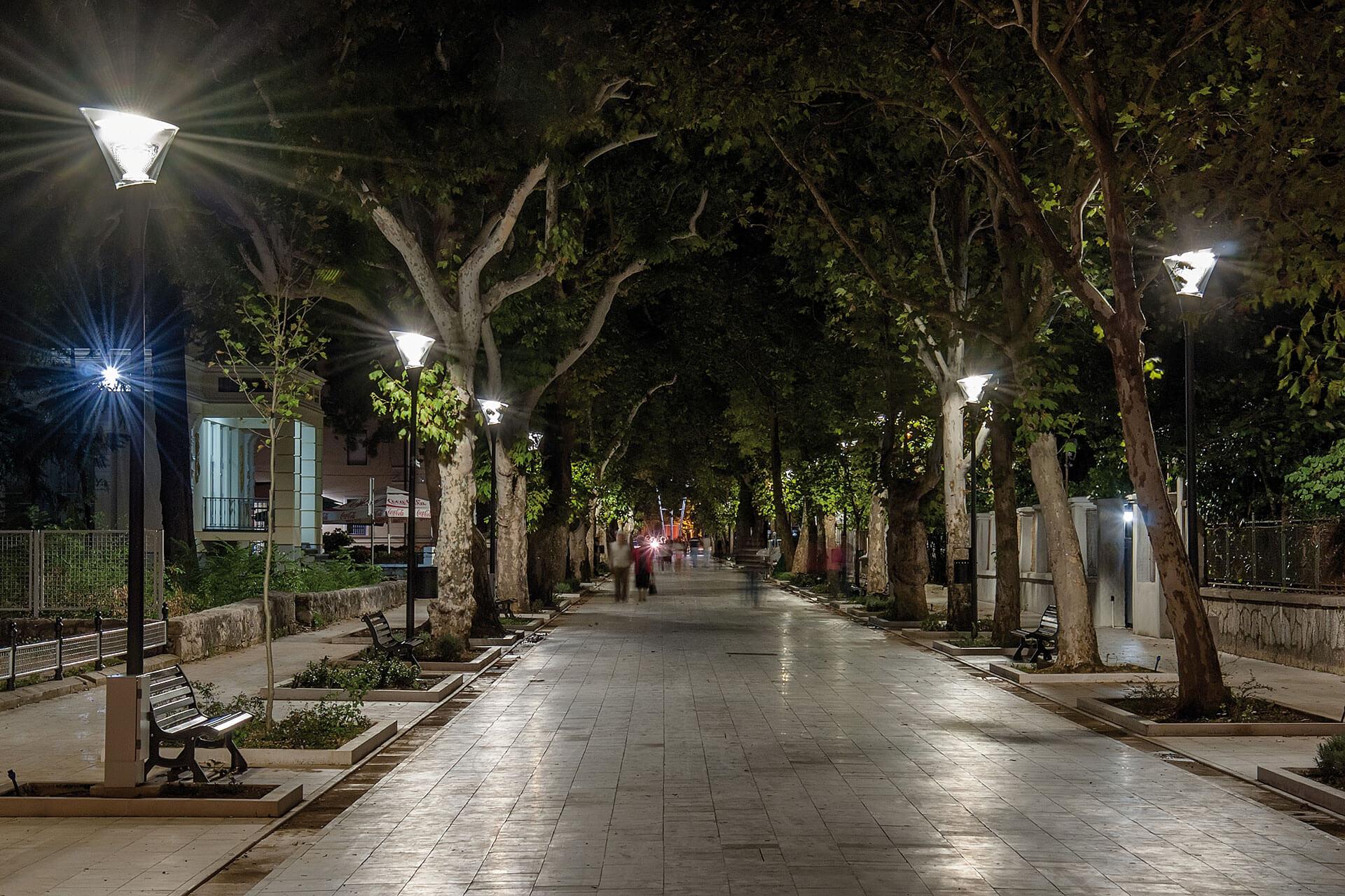 Aesthetic Urban Led Luminaire Creates Vibrant Nocturnal